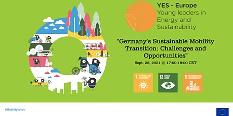 Germany's Sustainable Mobility Transition: Challenges and Opportunities tickets