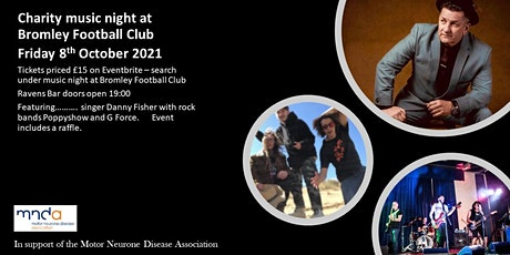 Music Night at Bromley Football Club in Support of MND tickets