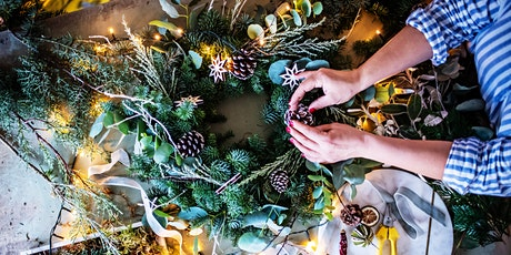 Sustainable Wreath Making Workshop tickets