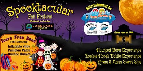 Spooktacular Fall Festival tickets