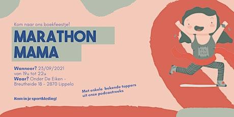 Boekpresentatie Marathon Mama tickets
