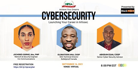Cybersecurity: Launching your career in Information Security tickets