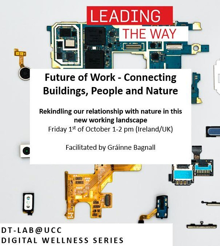 Future of Work - Connecting Buildings, People and Nature image