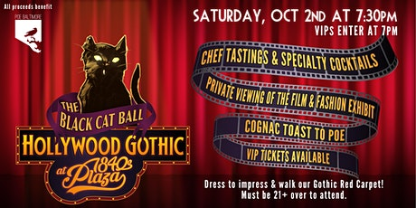 The Black Cat Ball: Hollywood Gothic at 1840's Plaza tickets