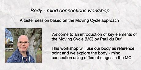 Body and mind connections tickets