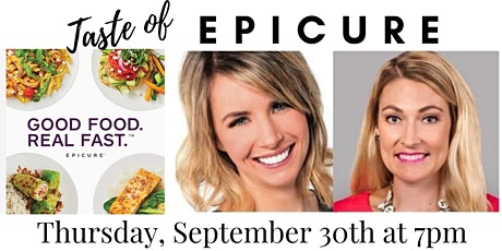 Taste of Epicure with CEO Amelia Warren--Sycamore IL tickets