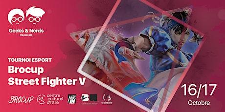 Tournoi esport Street Fighter V - Brocup billets