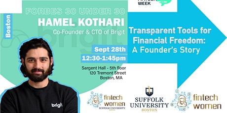 Transparent Tools for Financial Freedom:A Founder's Story tickets