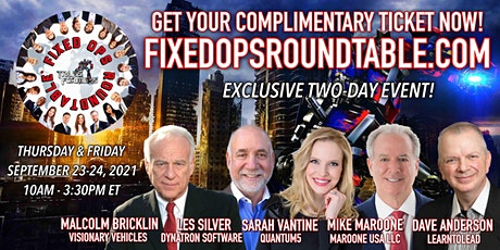 Ted Ings Presents FIXED OPS ROUNDTABLE: Transformers! 2-Day Virtual Event tickets