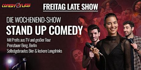 Comedyflash - Die Latenight Stand Up Comedy Show in Berlin Prenzlauer Berg Tickets