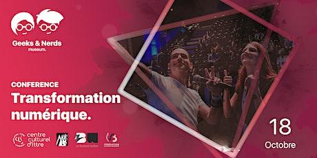 """Conférence """"Transformation numérique"""" tickets"""