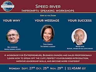Impromptu Speaking Workshop tickets