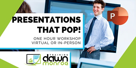 PowerPoint Presentations that Pop! tickets