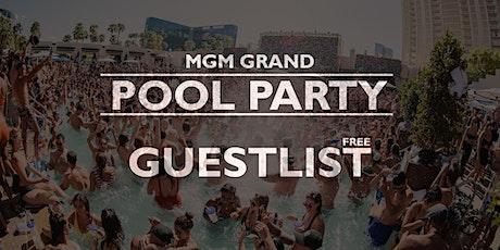 THURSDAYS - POOL Party @ MGM Grand, Las Vegas - SEPT 23 [FREE GUESTLIST] tickets