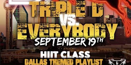 Triple D vs. Everybody tickets