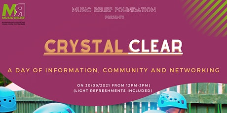 CRYSTAL CLEAR - Awareness Day tickets