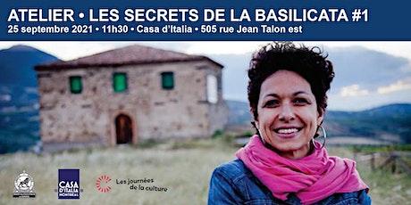 Les secrets de la Basilicata #1 billets