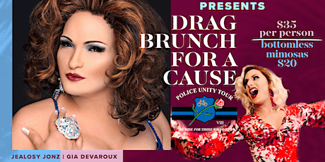 Police Unity Tour Fundraiser:  Drag Brunch tickets