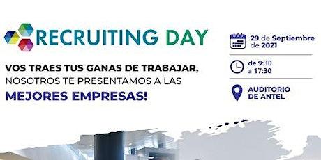 Recruiting Open Day 2021 entradas