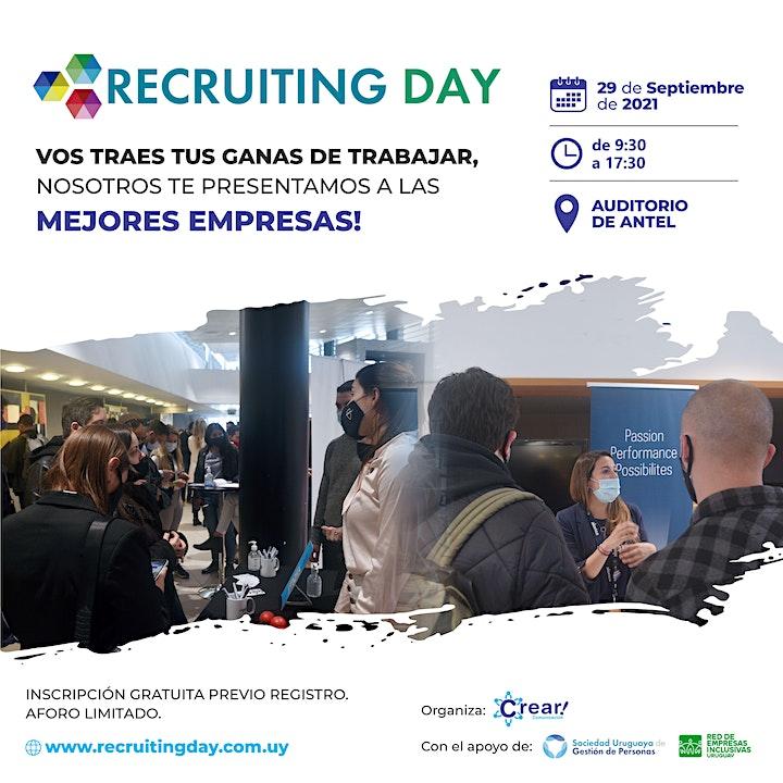 Imagen de Recruiting Open Day 2021