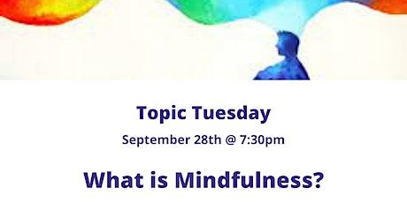 What is Mindfulness? biglietti
