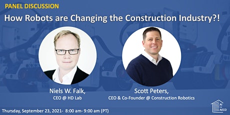 Panel Discussion: How are Robots Changing the Construction Industry? tickets