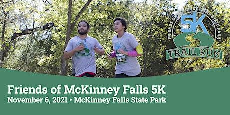 Friends of McKinney Falls 5K tickets