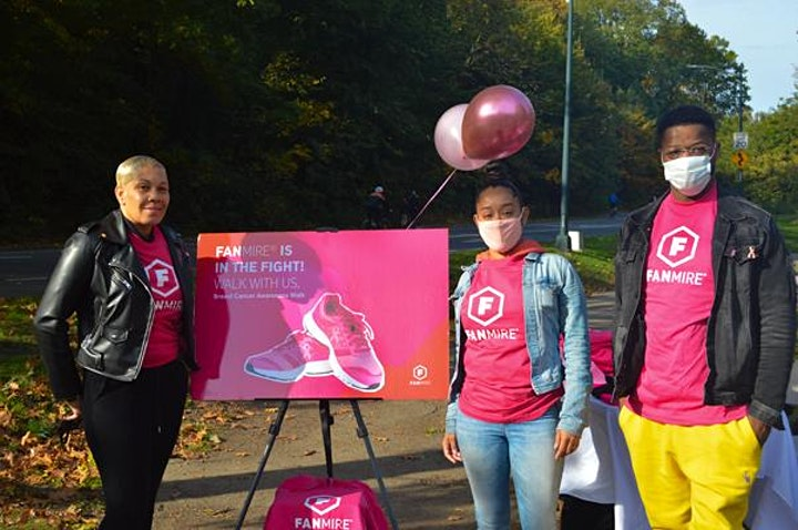 Fanmire's 2nd Annual Walk for Breast Cancer image