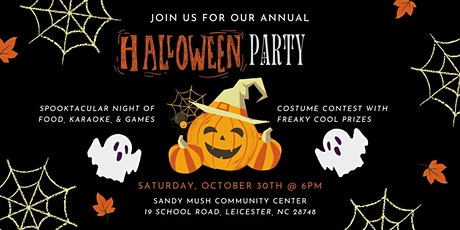 Annual Halloween Party tickets