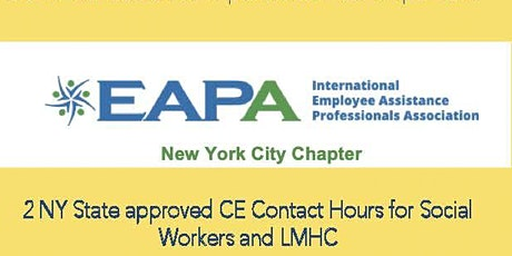 EAPA NYC Training: Introduction to Internal Family Systems tickets