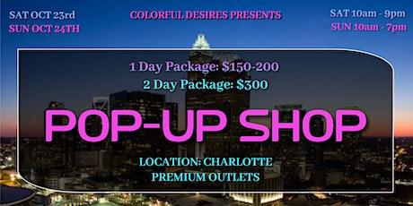 Charlotte Premium Outlets Pop-Up Shop tickets