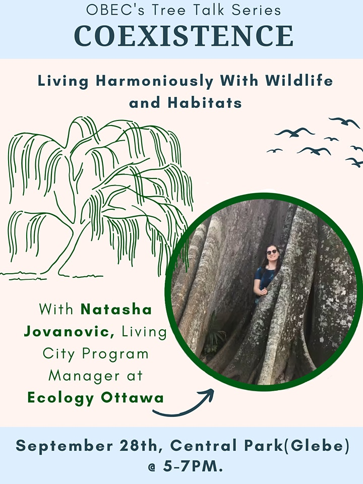 OBEC's Tuesday Tree Talk Series - Coexistence: Our Harmony with Nature image