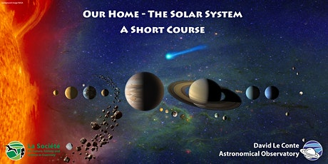 Our Home - The Solar System - A Short Course tickets