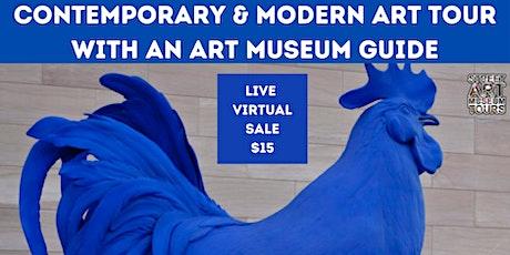 Online Contemporary & Modern Art Tour tickets