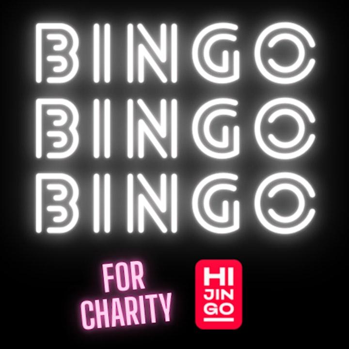 Charity BINGOOO at HIJINGO image