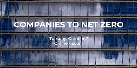 Companies to Net Zero tickets