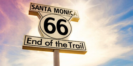 ROUNDUP in SANTA MONICA at ROUTE 66 end at the PIER with #vanlife YouTuber tickets