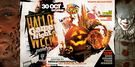 Halloween Party Game Night tickets