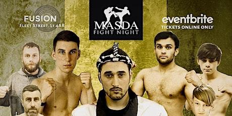 Masda Fight Night - STRICTLY STRIKING tickets