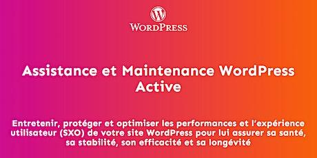 La maintenance et la performance de votre site Wordpress billets
