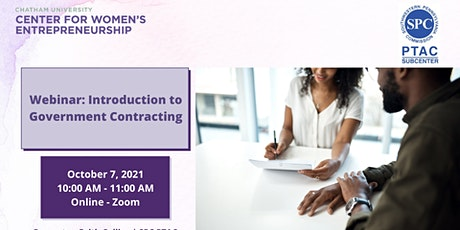 Webinar: Introduction to Government Contracting tickets