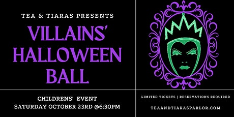 Villains' Halloween Ball tickets