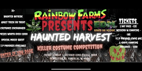 Rainbow Farms Presents The Haunted Harvest tickets