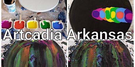 Artcadia Arkansas Play with Paint tickets