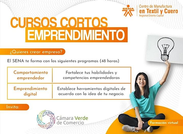 Introducción a cursos de emprendimiento que ofrecemos en alianzacon el SENA image
