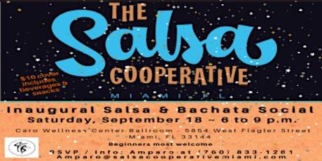 Salsa Cooperative's Inaugural Salsa and Bachata Social (beginner friendly) tickets