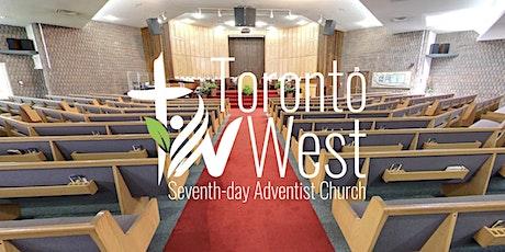 Toronto West SDA Church Service - September 18, 2021 tickets