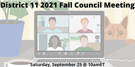 Toastmasters D11 Fall Council Meeting tickets