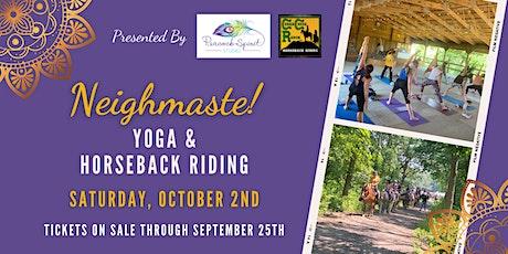 Neighmaste: Yoga & Horseback Riding tickets