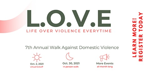 2021 Rally and Walk Against Domestic Violence tickets